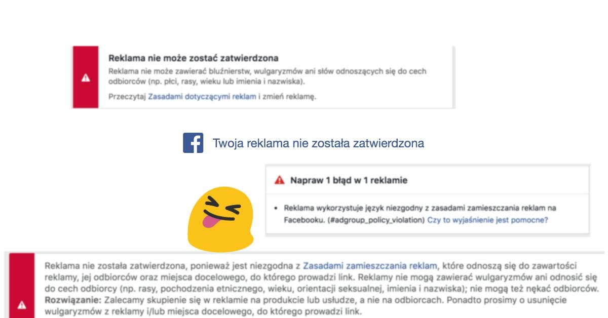 Dlaczego trudno reklamować nas na Facebooku?